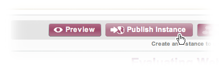 The Repository's Publish Instance Button